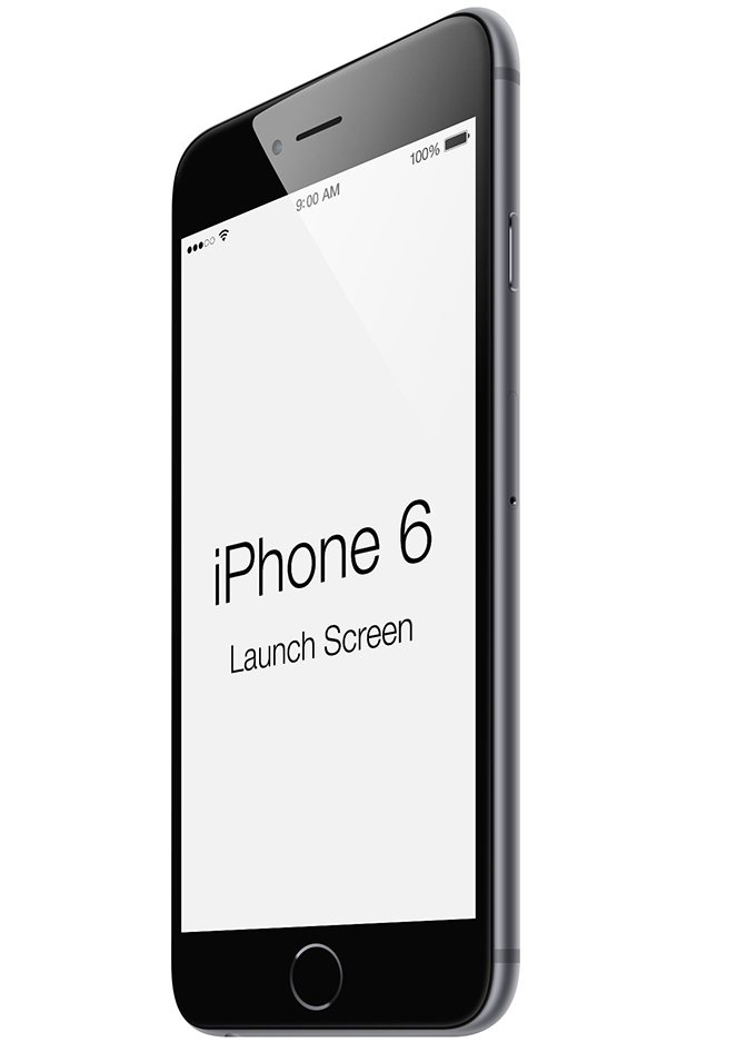 iPhone 6 Launchscreen