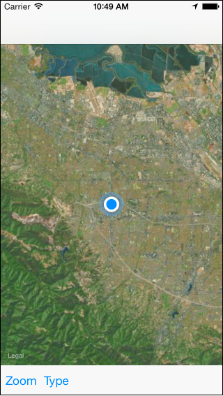 Map View | User Location