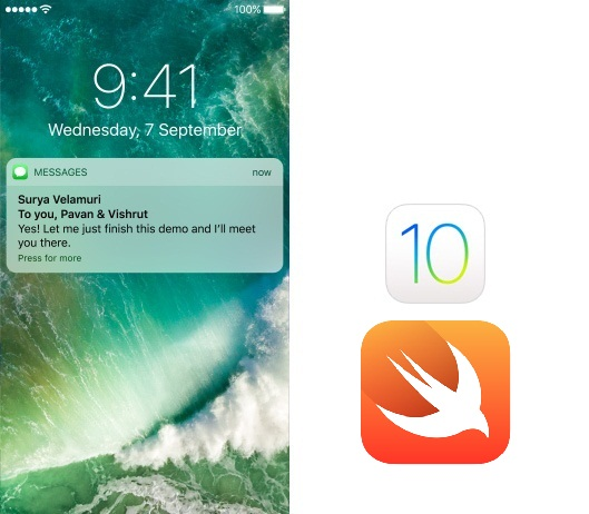 Push Notification iOS 10 Swift
