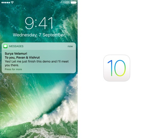 Push Notification iOS10