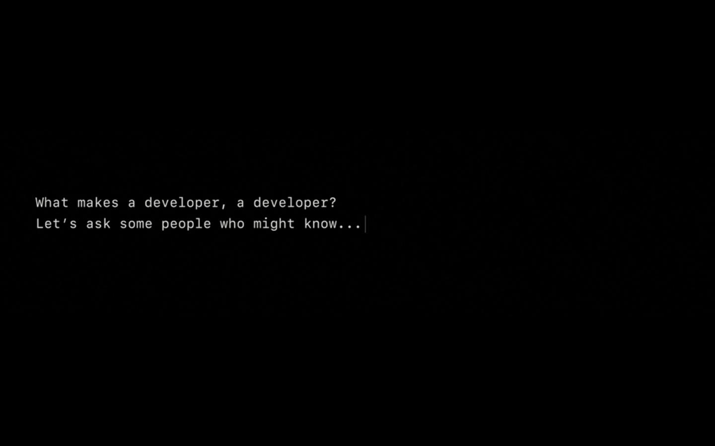 what-makes-a-developer-a-developer